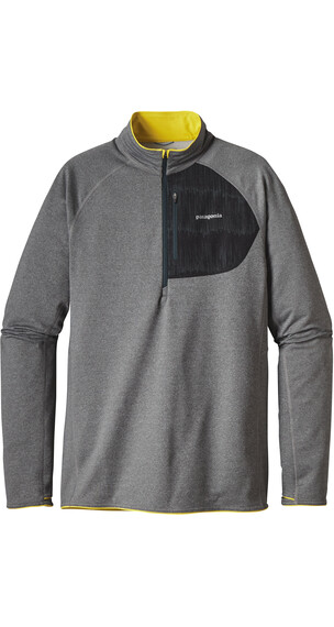 Patagonia M's Thermal Speedwork Zip Neck Shirt Carbon